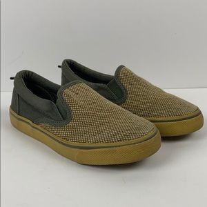 Gymboree boys slip on sneakers size 12